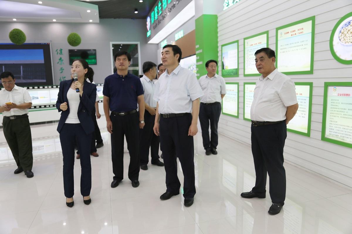 副市长贾善银来我公司调研包保企业发展情况