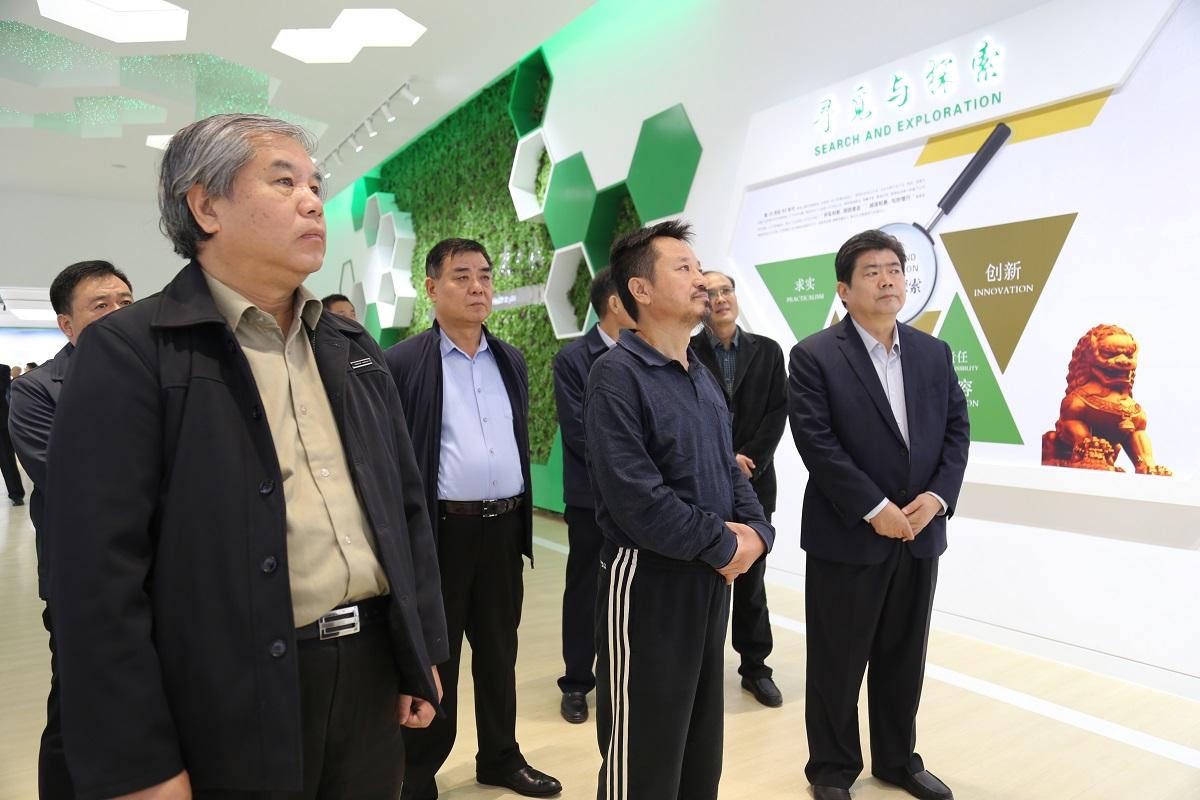 全国政协委员、致公党中央副主席兼秘书长 曹鸿鸣到公司调研
