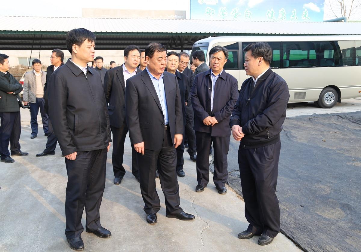 市委书记张光峰到公司调研 新旧动能转换工作