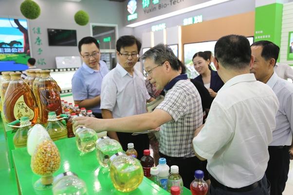 国家粮科院专家到公司调研国家大豆产业技术中心筹建工作